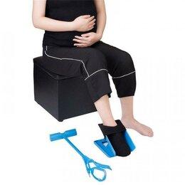 Устройства, приборы и аксессуары для здоровья - Приспособление для одевания носков, 0