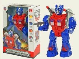 Роботы и трансформеры - Робот «Стрелок», свет, звук, раб. от бат., 0