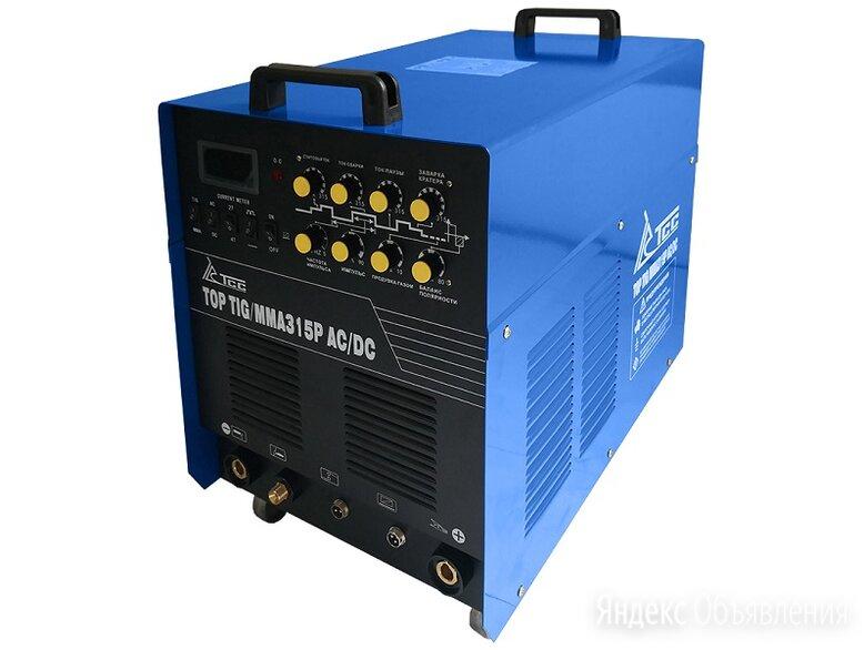 Инвертор сварочный TCC TOP TIG/MMA-315P AC/DC по цене 71602₽ - Сварочные аппараты, фото 0