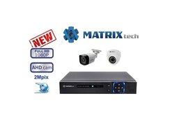 Готовые комплекты - Видеонаблюдения на 2 камер Matrix Tech, 0