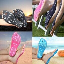Интерьерные наклейки - наклейки на стопы - вместо пляжной обуви (пара), 0