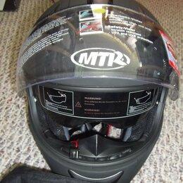 Шлемы - Новый мотошлем MTR (интеграл), 0