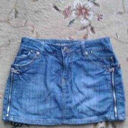 Юбки - Джинсовая юбка, 0