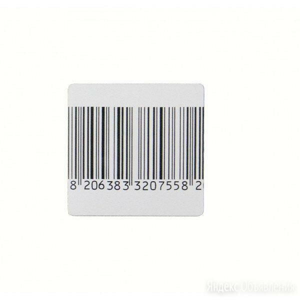 Этикетка радиочастотная 28х30 мм, штрихкод по цене 1165₽ - Расходные материалы, фото 0