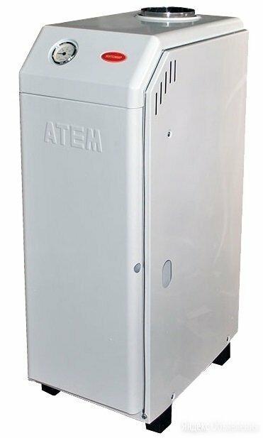 Газовый котел Житомир КСГВ-15 СН вертикальный дымоход Атем по цене 32610₽ - Отопительные котлы, фото 0