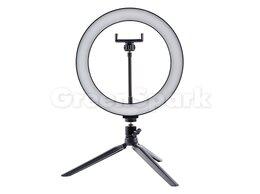 Моноподы и пульты для селфи - Кольцевая лампа для фото и селфи + настольный…, 0