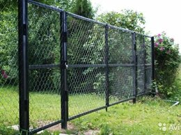 Заборы и ворота - Сетка рабица, столбы, ворота металлические,калитки, 0
