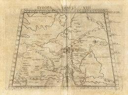 Гравюры, литографии, карты - 1574 год. Карта Сарматии - будущей России,…, 0