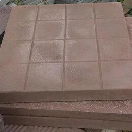 "Тротуарная плитка, бордюр - Тротуарная плитка (брусчатка) ""Шахматка"", 300х300х30 мм, 0"