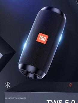 Портативная акустика - Портативная Bluetooth 5.0 стерео колонка  T&G 117, 0