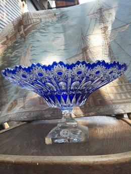 Вазы - Хрустальную старинную вазу …, 0