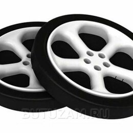 Шины, диски и комплектующие - Объемные пластиковые колеса комплект 2 шт, 0