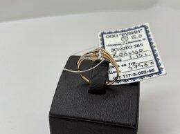 Кольца и перстни - Золотое кольцо 585 пробы, массой 1,13 грамм, 0