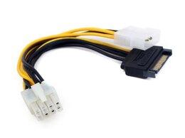 Кабели и разъемы - Разветвитель питания Cablexpert CC-PSU-82 Molex+SA, 0
