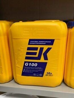 Строительные смеси и сыпучие материалы - Грунтовка EK-G100, 0