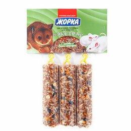 Товары для сельскохозяйственных животных - Жорка для грызунов батончик экстра мед 150Г N3, 0
