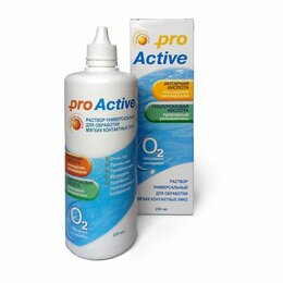 Дезинфицирующие средства - Раствор для МКЛ Optimed ProActive 250мл, 0