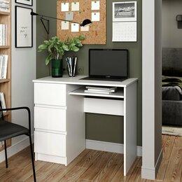 Компьютерные и письменные столы - Стол письменный с ящиками, 0