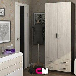 Шкафы, стенки, гарнитуры - Шкаф двухдверный  с ящиками Дуэт, 0