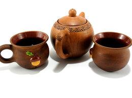 """Сервизы и наборы - Чайный глиняный набор """"Лес"""", 0"""