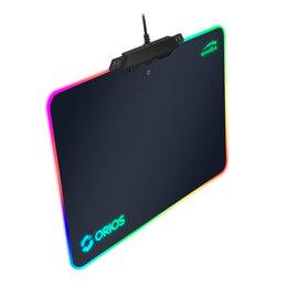 Коврики для мыши - Коврик для мыши с подсветкой ORIOS RGB Gaming, 0