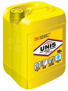 Пропитки - Грунт для внутренних работ unis 10 л, 0