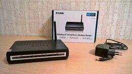 Проводные роутеры и коммутаторы - Роутер D-Link DSL-2640U, 4LAN Ports, 0