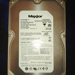 Жёсткие диски и SSD - Жесткий диск IDE (Maxtor 320 GB STM3320820A), 0