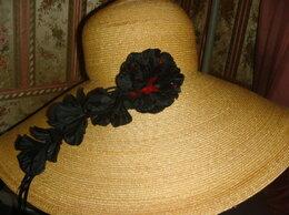 Головные уборы - Шляпа из натуральной соломки Luisa Beccaria…, 0