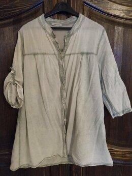 Блузки и кофточки - Легкая, свободная итальянская рубашка ., 0