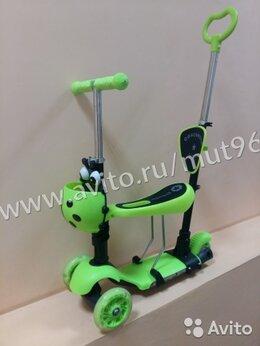 Самокаты - Самокат - кикборд детский трансформер. зеленый, 0