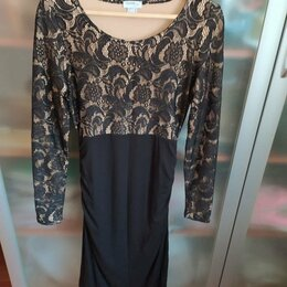 Платья - Трикотажное платье  46 р , 0