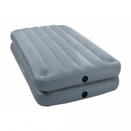 Надувная мебель - Кровать надувная 99*191*46см, 0