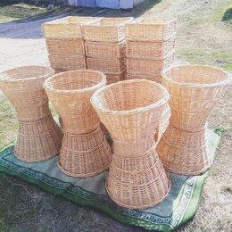 Прочее оборудование - Лотки ящики плетеные,корзины для торговли, 0