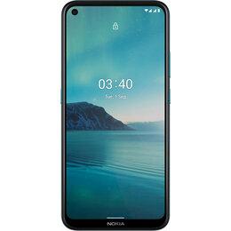 Мобильные телефоны - Смартфон Nokia 3.4 3/64GB Dual Sim Синий, 0