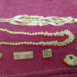 Украшения на тело - Ожерелье слоновая кость, 0