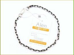 Браслеты - ЯКОРЬ ГРАНЕНЫЙ браслет 22*0,4см серебро 925…, 0