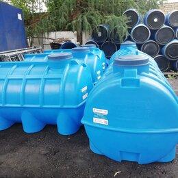 Баки - Емкость для воды 1000 литров горизонтальная Aquaplast Аквапласт, 0