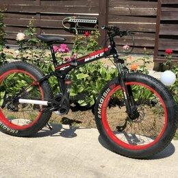 Велосипеды - Новый складной фэтбайк, 0