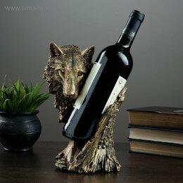 Канцелярские принадлежности - Подставка под бутылку Волк, 0