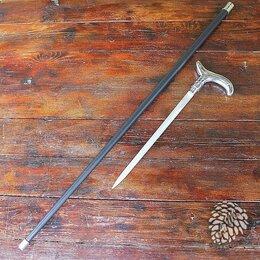 Зонты и трости - Трость опорная с клинком Gentleman Silver, 0