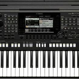 Музыкальные CD и аудиокассеты - Синтезатор Yamaha PSR-s770, 0