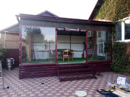Шторы - Прозрачные шторы для террасы, 0