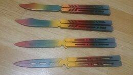 Игрушечное оружие и бластеры - Деревянный нож, бабочка, кунай, штык-нож, 0
