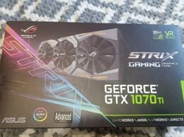 Видеокарты - Видеокарта asus ROG Strix GeForce GTX 1070 Ti Adva, 0