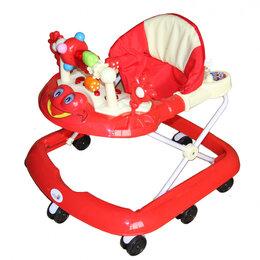 Компьютерные кресла - Детские ходунки Игротека 8 колес Alis, красный, 0