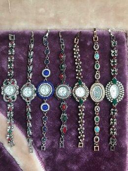 Наручные часы - Часы-браслеты женские под серебро, 0