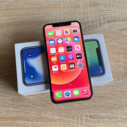 Мобильные телефоны - iPhone X 64 Gb Silver, 0