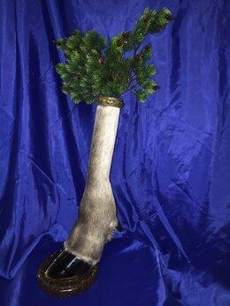 Вазы - Ваза под цветы из лосиного копыта., 0