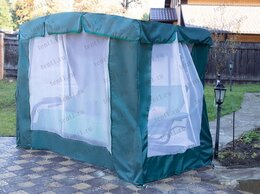 Садовые качели - Тент-шатер для садовых качелей (с дугообразной…, 0